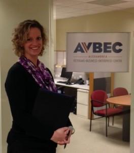 Emily McMahan, AVBEC