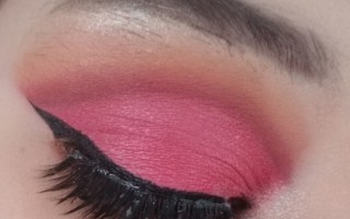Pink Rose Cut Crease
