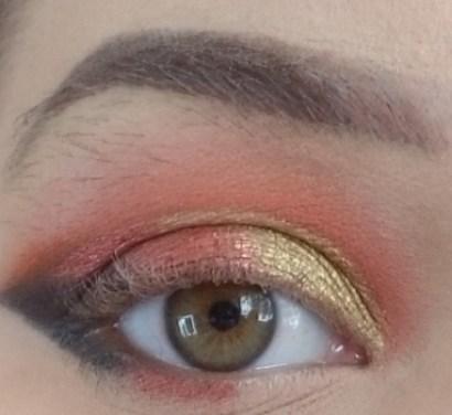 Saharan Makeup Look