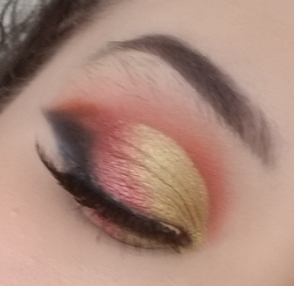 Saharan Makeup Look