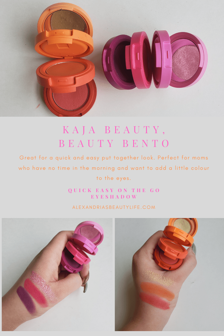 Kaja Beauty, Beauty Bento Eyeshadow Trio