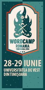 WordCamp Romania, Timisoara 2014