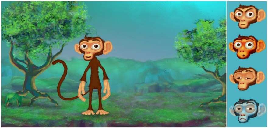 17 Langeroo Monkey 1