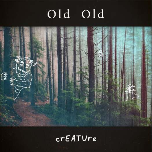 "The cover for Old Old's latest EP, ""Creature."""