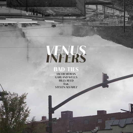 "The single art for Bad Ties' ""Venus Infers,"" one of the best of summer 2020!"