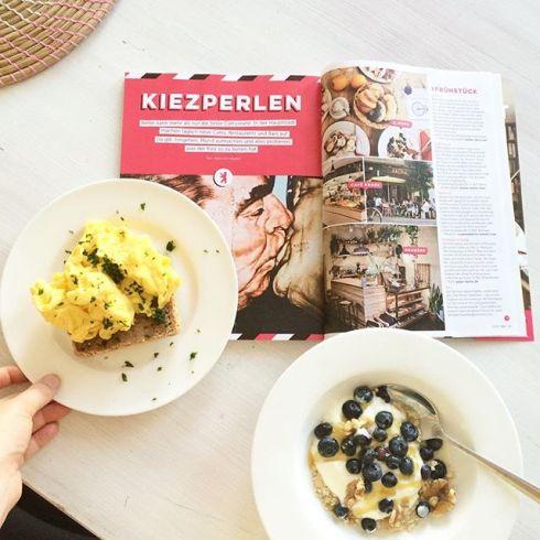"""Out now: """"Kiezperlen"""", my Berlin Food Guide in Deli! #Berlin #berlinrestaurants #deli #delimagazin #essenundtrinken"""