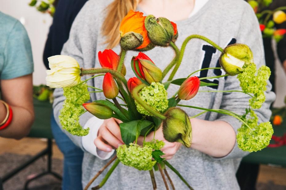 Blumen-Workshop mit Marsano & Freunde von Freunden | WERBUNG