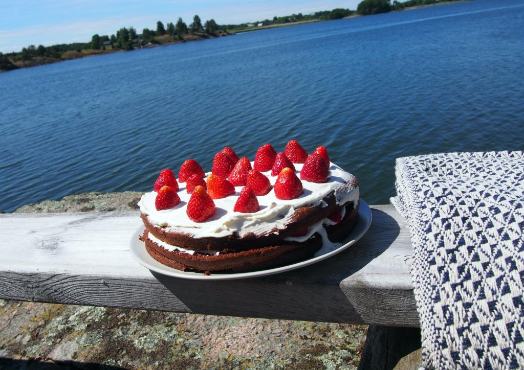 Kalles Schoko-Erdbeer-Torte