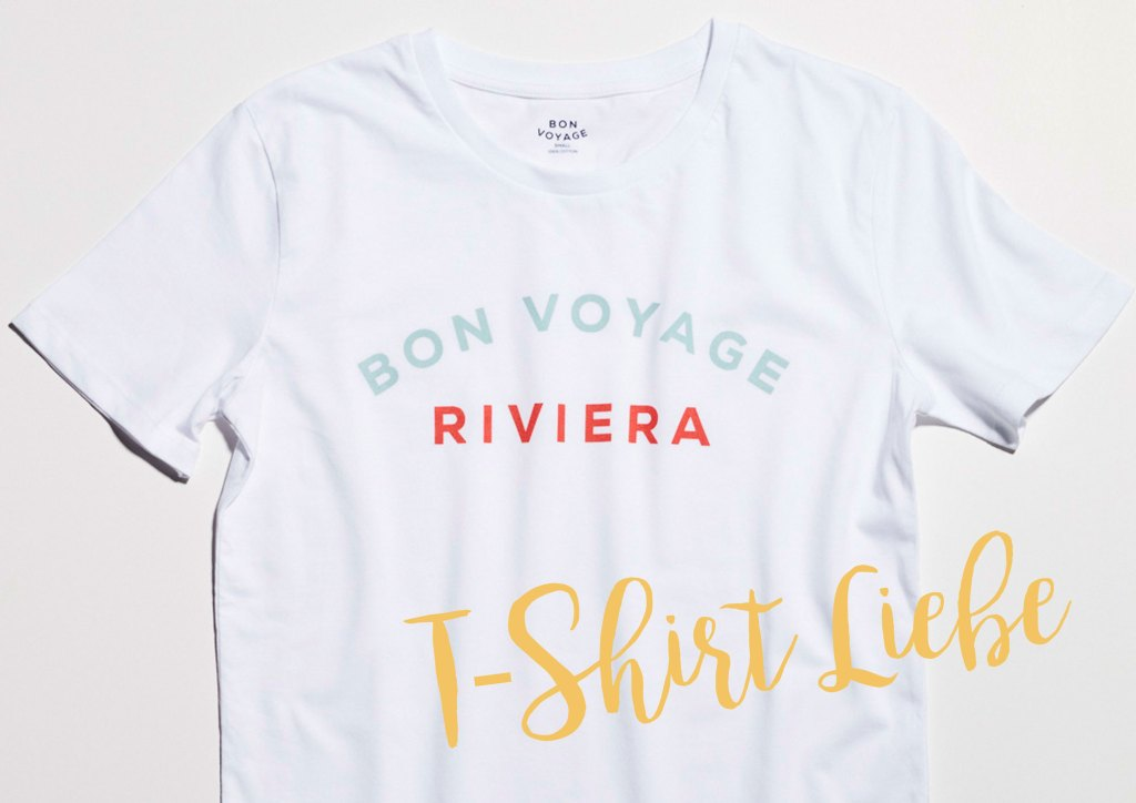 Capri, Paris, Riviera: Ferien-T-Shirts von Bon Voyage