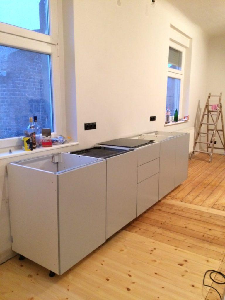 Update Von Der Baustelle Vi Unsere Neue Ikea Kuche Anzeige