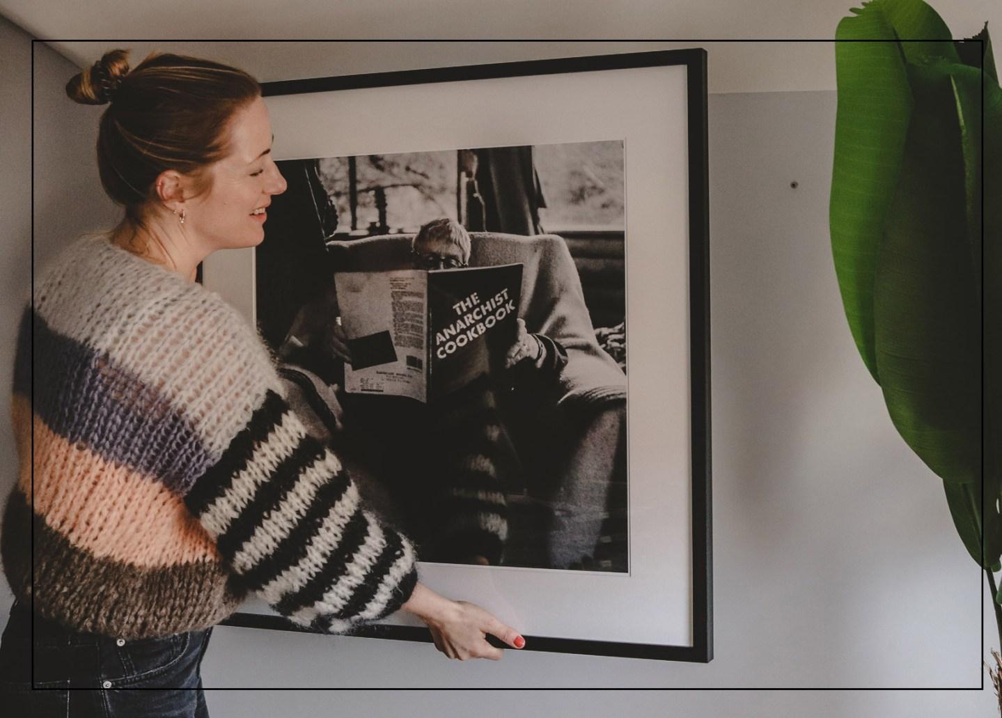 Fotokunst von Lumas in meinem neuen Home Office  Anzeige