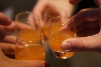 Cocktail amuse bouche to start