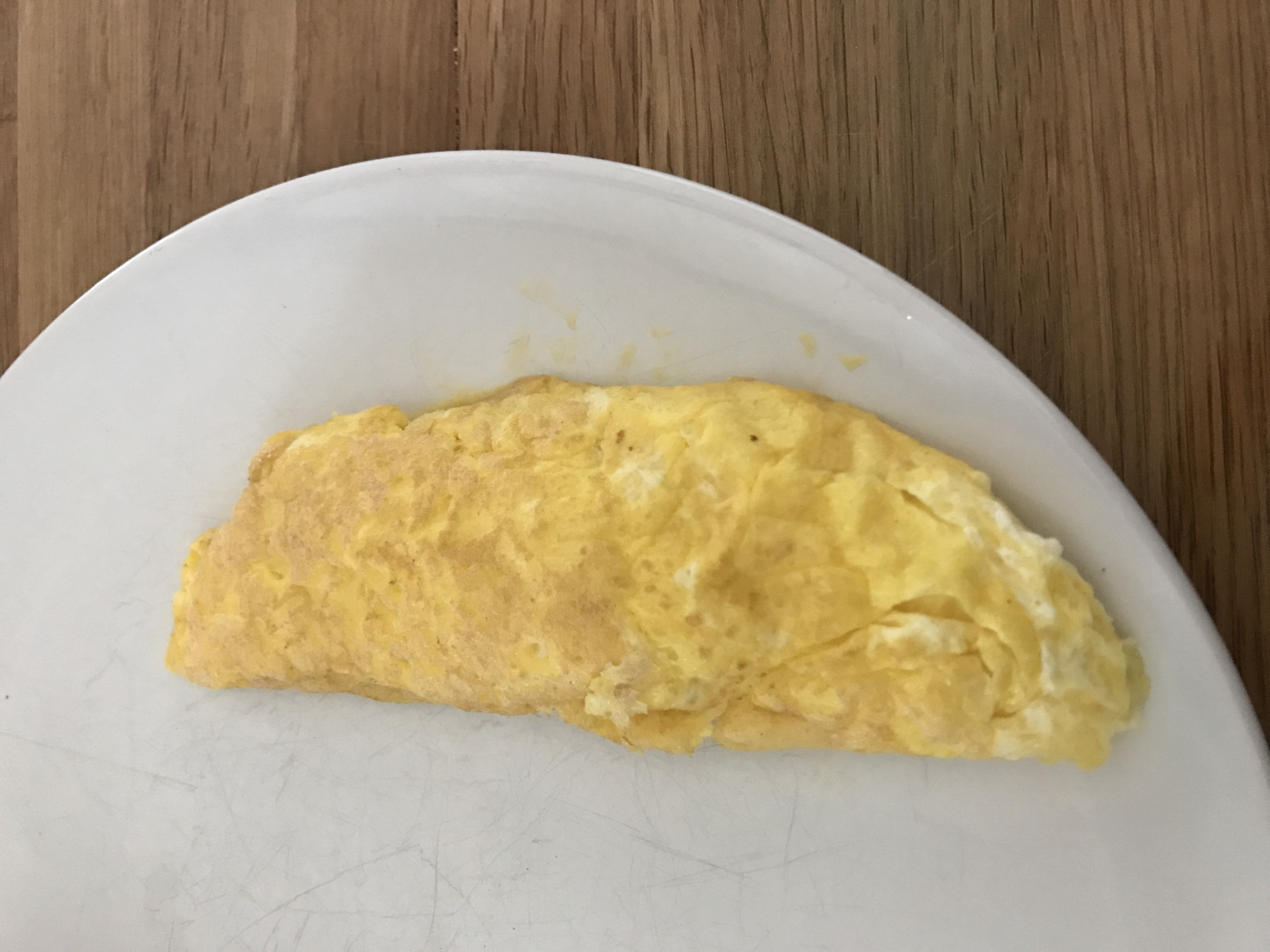 I'm still on a mission to perfect a french omelette. I'm getting close!