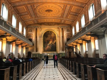The chapel - even more stunning IRL