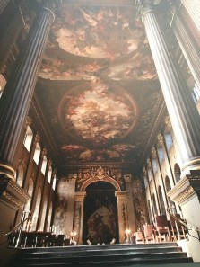 It's worth coming here for the Painted Hall alone, or so I'm told.