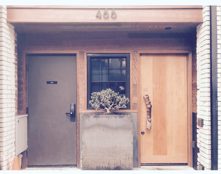 The entrance on Eddy St.