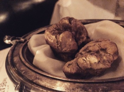 "When the meal starts with your waiter saying, ""You can add white truffle to anything"" you know shit just got real."