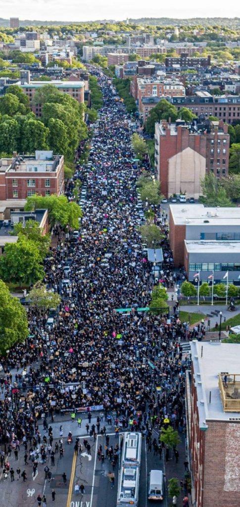 4H floyd protest