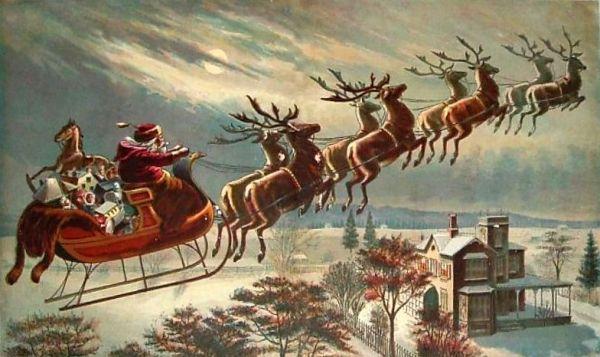 HA santa sleigh