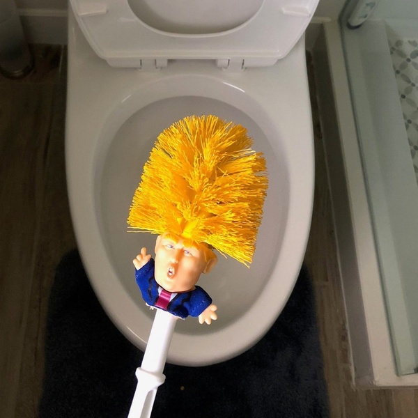 ICF toilet brush