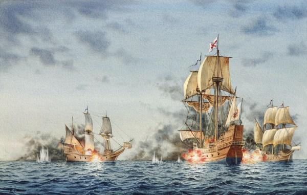 WL naval battle