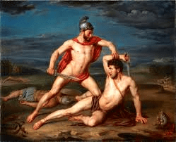 Achilles Killing Hector (1875)