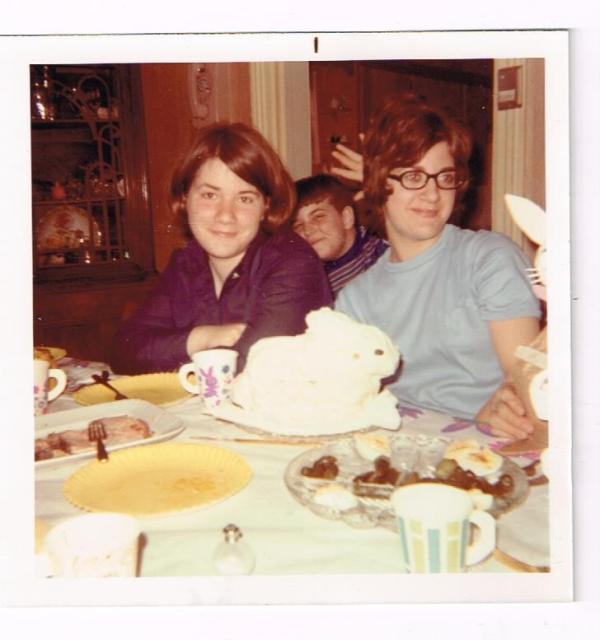 bunny cake 1971