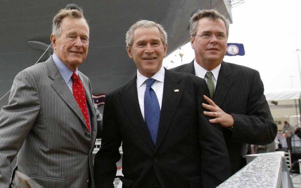 bush sons