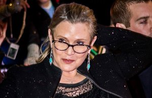 Carrie Fisher - Astrology of her passing