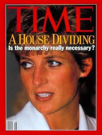 Diana, Time cover