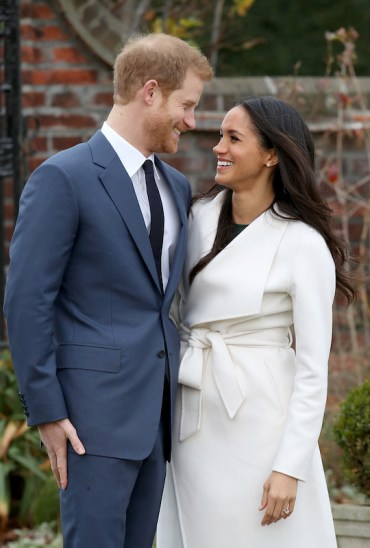 harry enaged to meghan