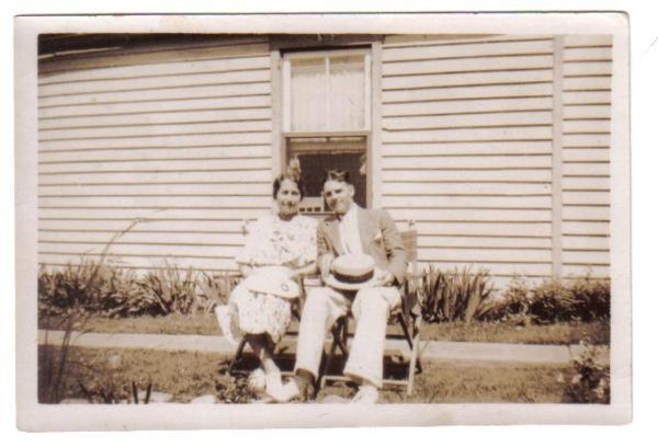 nana & pappy 1938