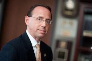 Rod Rosenstein, Deputy Attorney General