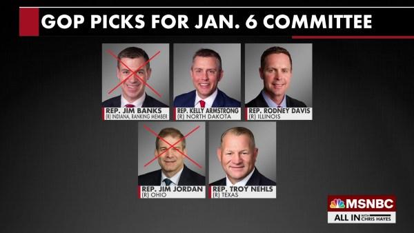 select GOP picks