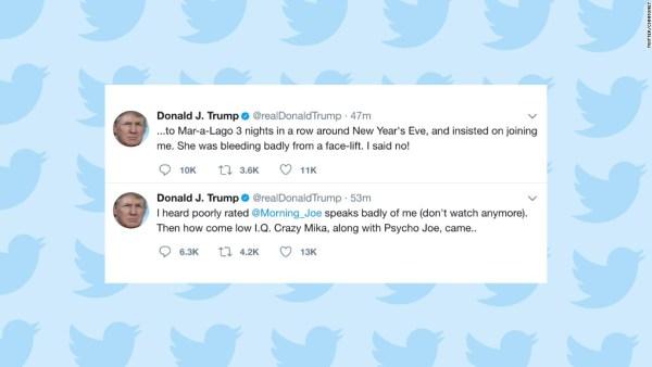 trump mika tweet