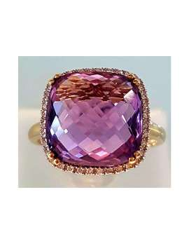 9ct-Gold-Amethyst-and-Diamond-Ring