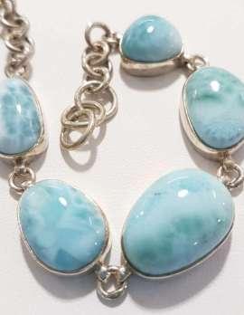 Larimar stone bracelet