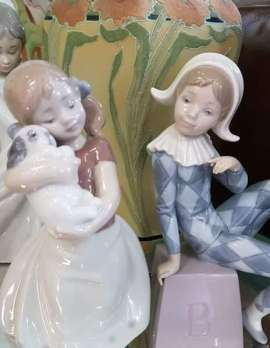 Assorted Lladro Figurines