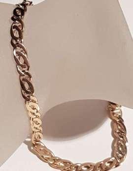 14ct Gold Long Bracelet