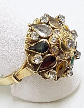 14ct Yellow Gold Princess Ring