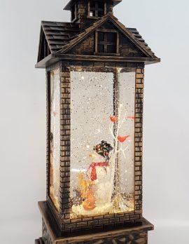 Christmas Glitter Lantern – Snowman & Friends – Christmas Ornament Design #19