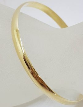 9ct Yellow Gold Heavy / Solid Golf Bangle