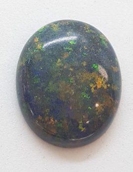 Large Polished Natural Matrix Opal – Oval Shape – Loose / Unset Stone