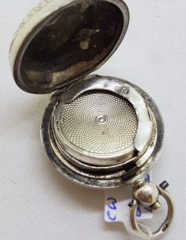 Sterling Silver Ornate Sovereign Case - Antique / Vintage - Hallmarked Birmingham 1902
