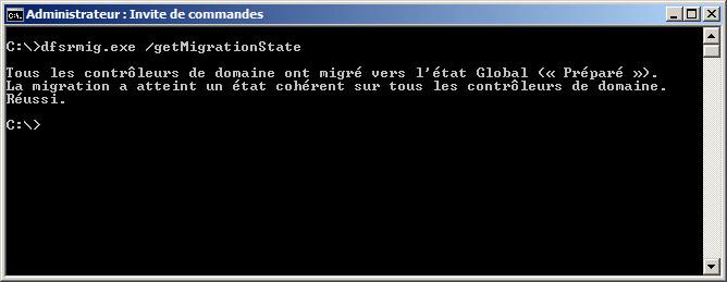 dfsrmig.exe /setGlobalState 1 fini