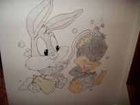 Baby Bugs and Daffy