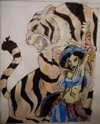 Princess Jasmine & Rajah