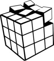 AlexBlasingame.com Cube Logo