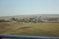 Es gibt nur wenig Industrielle Anlagen.