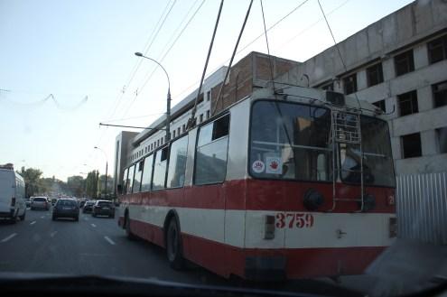 Die Busse erinnern ein wenig an San Francisco